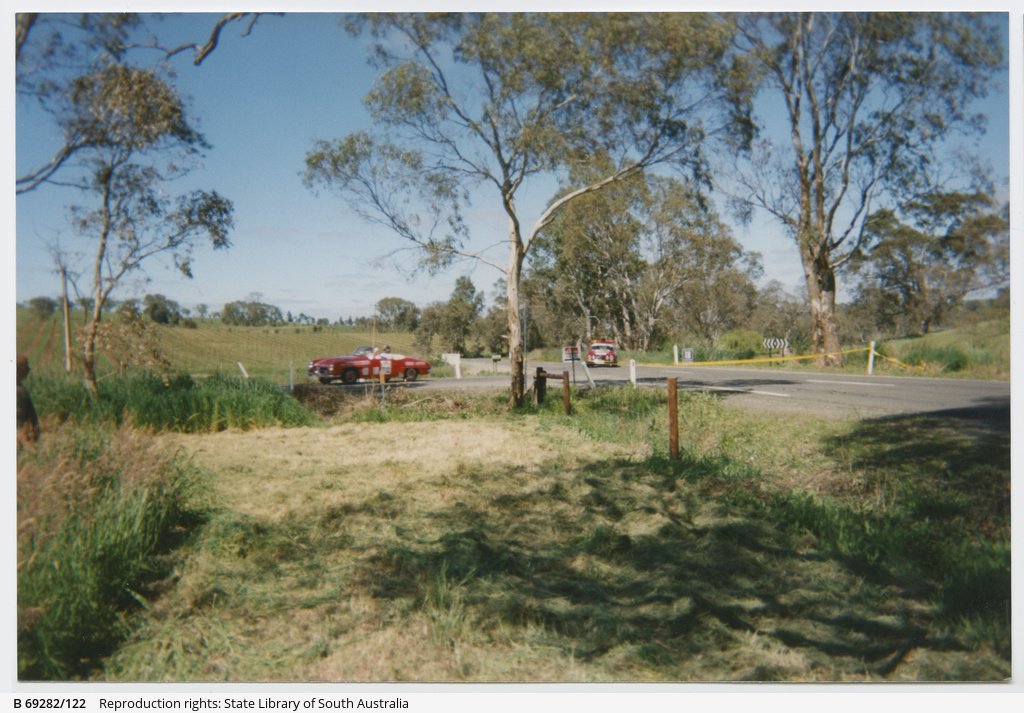 Classic Cars Adelaide Kersbrook Photograph State Library Of