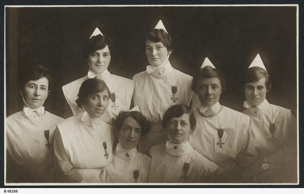 Nurses from Wakefield Street Hospital