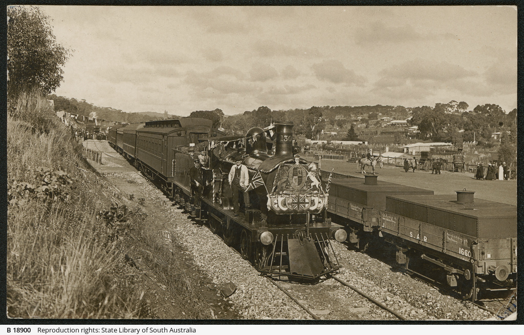 Opening of Clare Railway Station