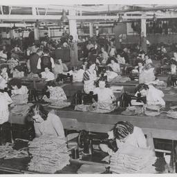 Female machinists.
