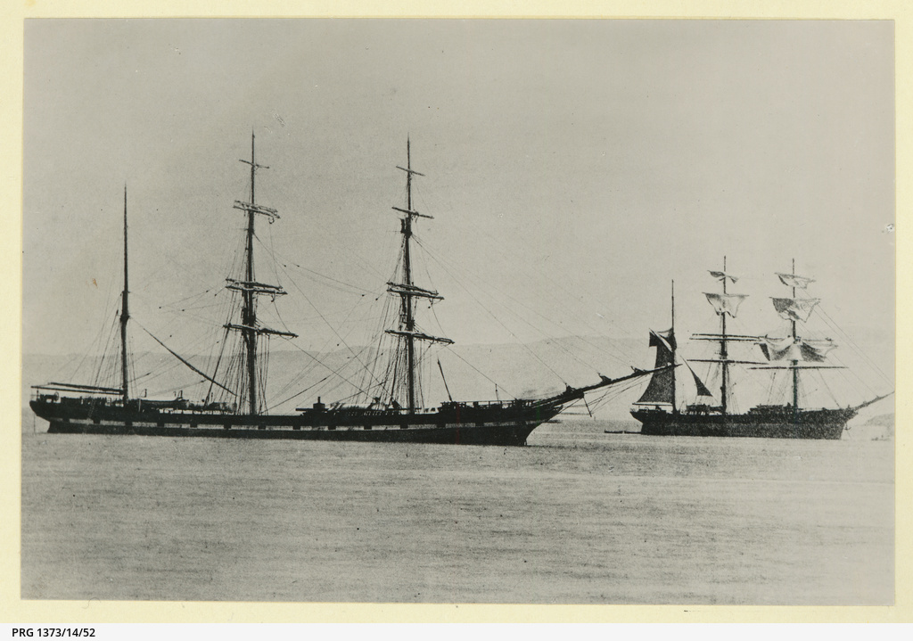 The 'Selkirkshire' at anchor
