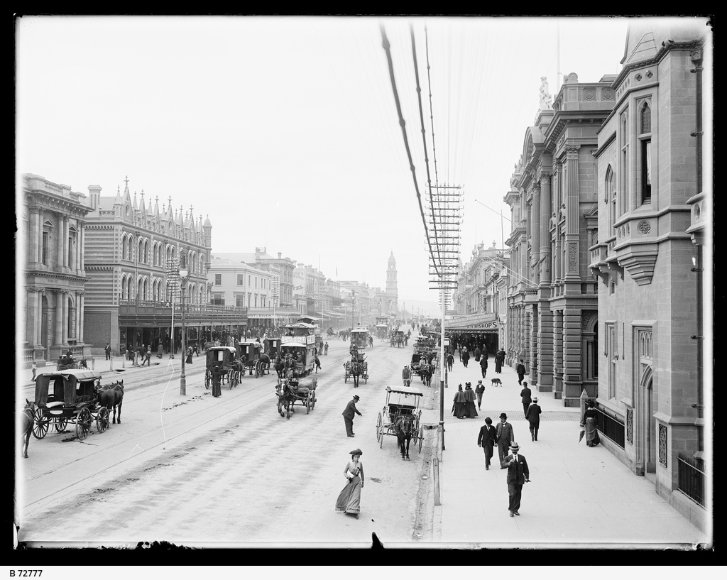 King William Street, Adelaide.