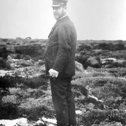 Arthur Searcy at Point Ellen, Kangaroo Island