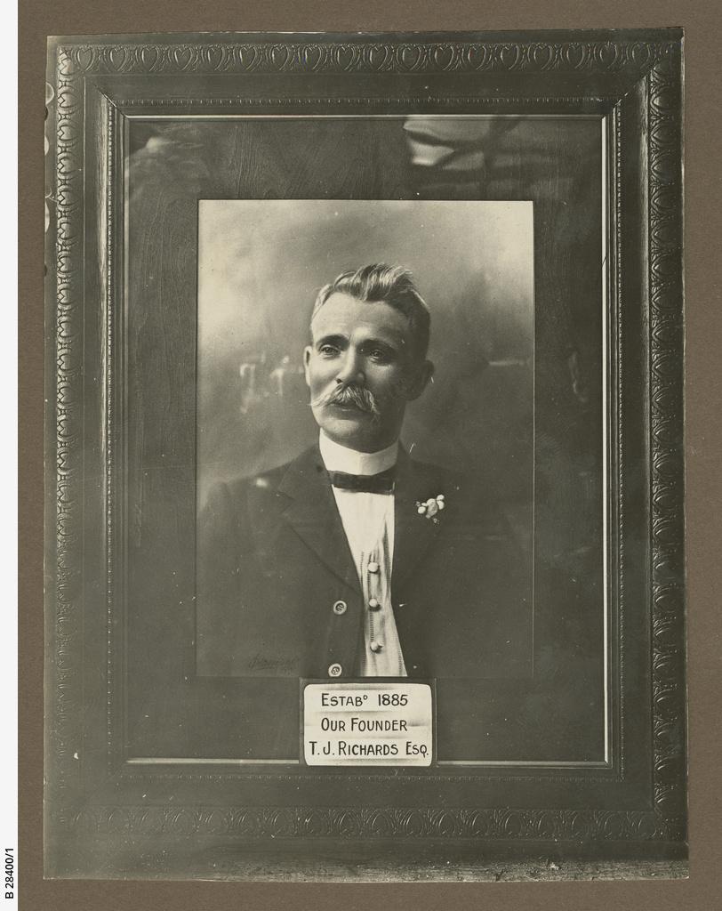 T.J. Richards & Sons : Founder