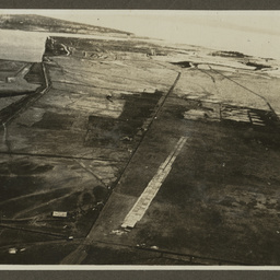 Bamboo runway.