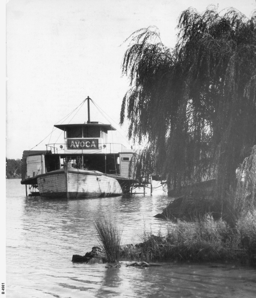 "The ""Avoca"" at Mannum"
