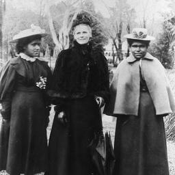 Three women.