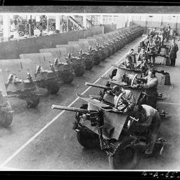 Anti-tank gun row at Beverley Plant