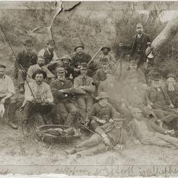 Party of Mount Gambier sportsmen