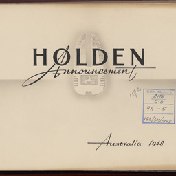 Holden inauguration, Melbourne