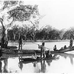 Fishing on the River Murray at Chowilla Station