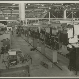 Commonwealth Aircraft Corporation factory interior.