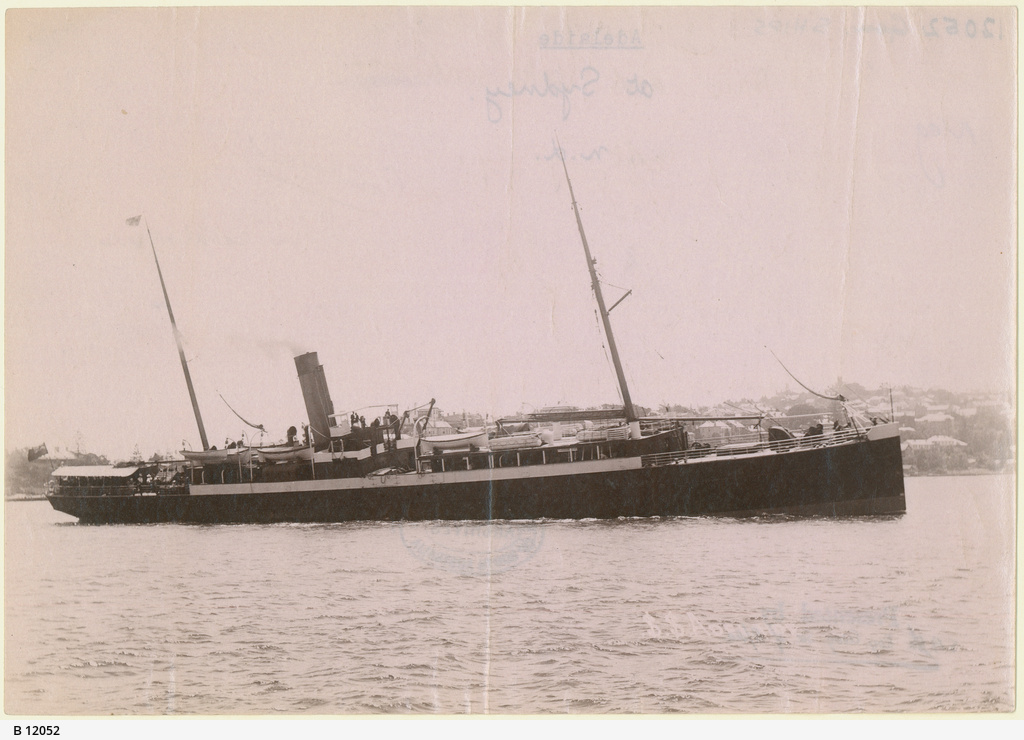"""The Steamship """"Adelaide"""""""