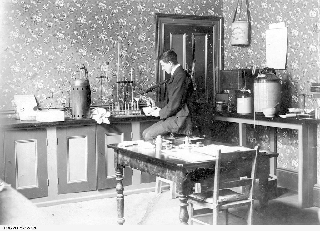The Marine Board laboratory, Globe Chambers, Adelaide