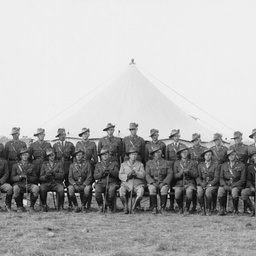 Officers of the 10th Battalion