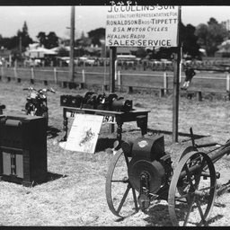 Display of equipment at the Mount Gambier showground