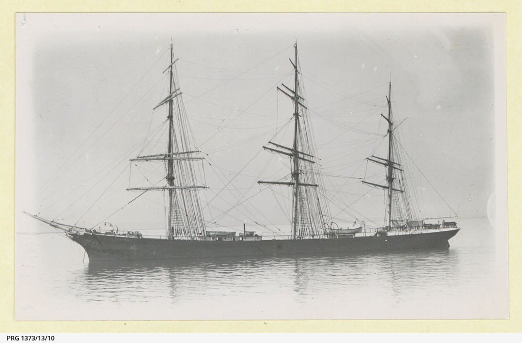 The 'Hilston' in an unidentified harbour
