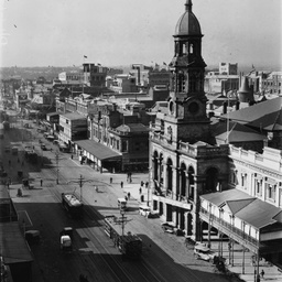 View of the Adelaide Town Hall from the General Post Office Tower
