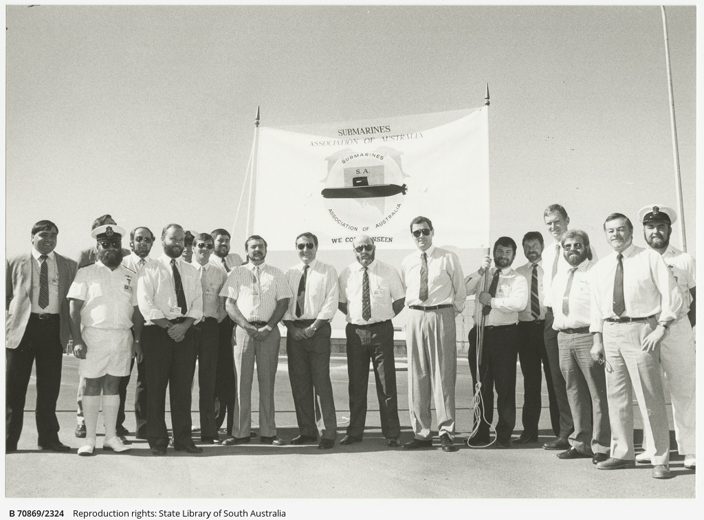 South Australian Branch of The Submarine Association of Australia. 18 April 1990.