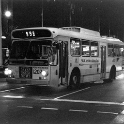 A Bee Line bus in Adelaide