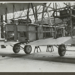 Vickers Vimy in workshop.
