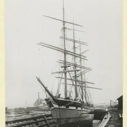 The 'Loch Broom' in dry dock