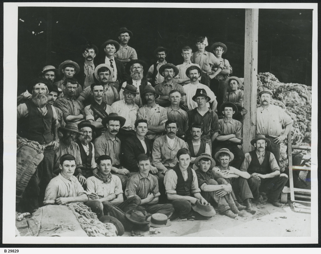 Hindmarsh: GH Michell and Sons employees