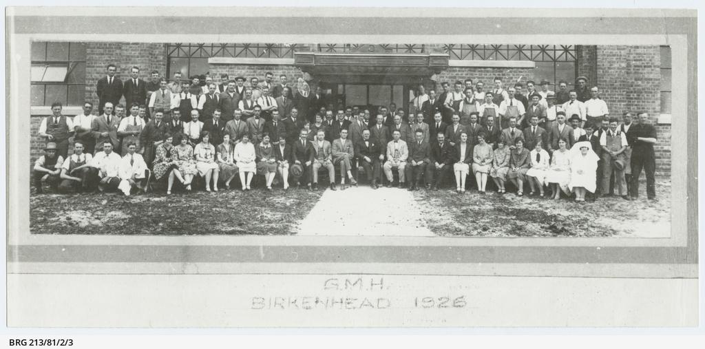 General Motors (Australia) staff, Birkenhead