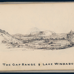 Sketches by Babbage : Gap Range, Lake Windabout