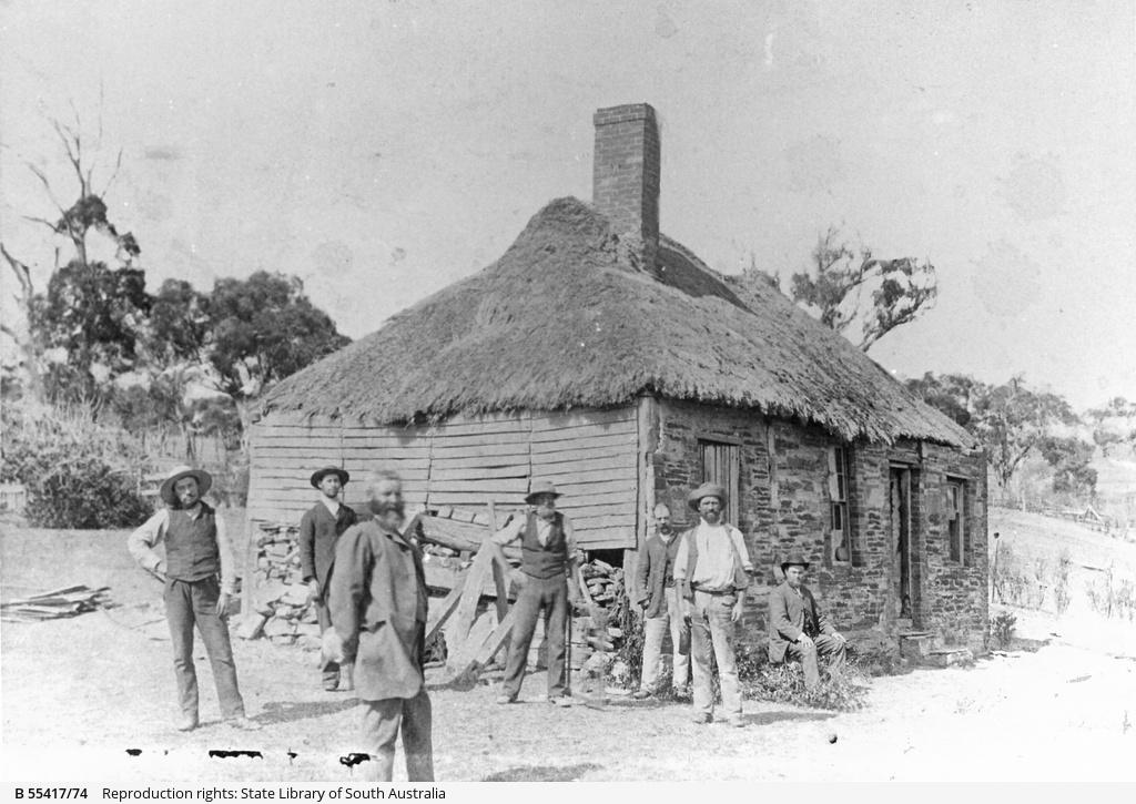 The original 'Bush Inn', Willunga