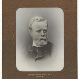 Portrait of George Woodroffe Goyder C.M.G.