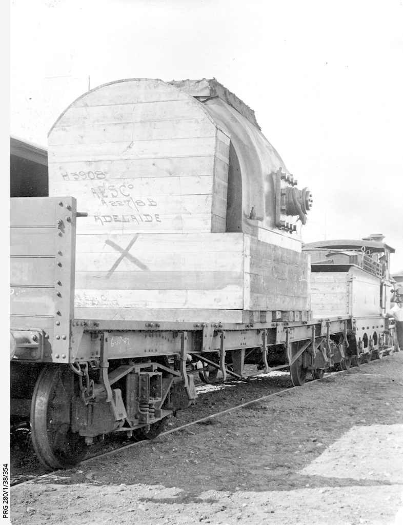 Rail transport at Outer Harbor