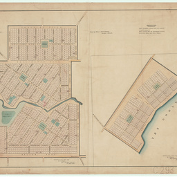 [Plan of townships of Currency Creek and Goolwa] [cartographic material] / drawn by Philip L. Snell Chauncy. Surveyor, Adelaide