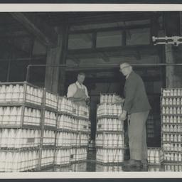 Mile End milk loading dock