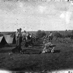 Light Horse camp.