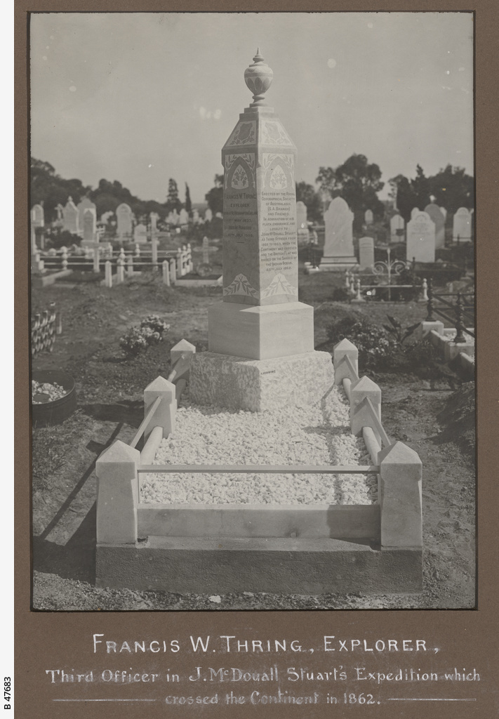 Francis W. Thring's grave
