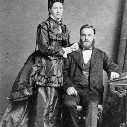 Captain W. Stewart and Mrs. Stewart