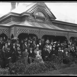 Alfred Catt's wedding