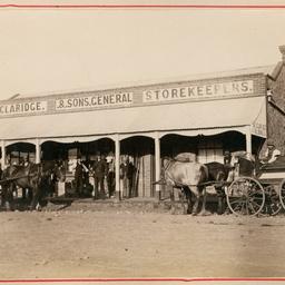 Claridge's general store, Redhill