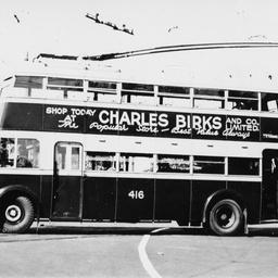 Double Decker Trolley Bus Trove