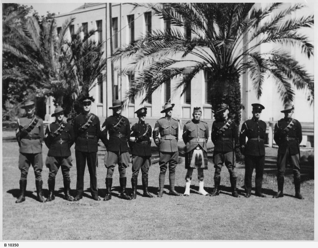 Types of Militia Uniforms Worn