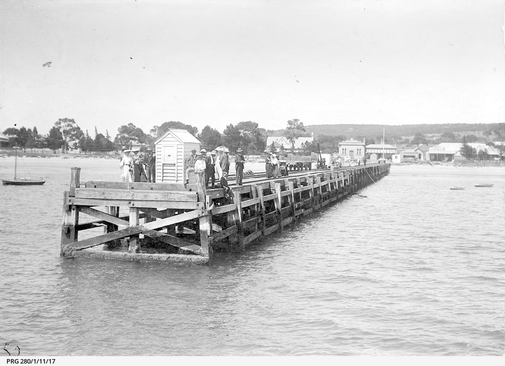 Old town jetty at Port Lincoln