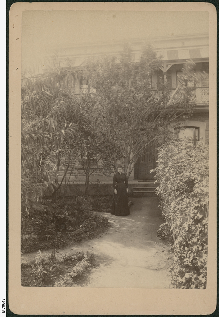 Mary Lee outside a North Adelaide home