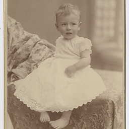 Portrait of Keith Smith as a baby