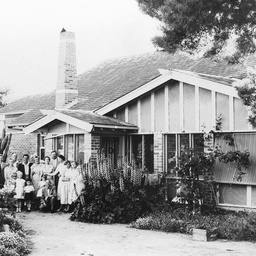House made of slate at Willunga