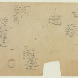 [Tracing showing sections in Hundreds of Yatala, Para Wirra and Talunga(part)] [cartographic material]