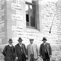 Dr. E.A. Johnson at Mount Gambier, South Australia