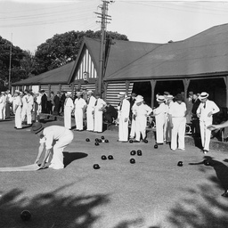 Bowls competition at South Park Green