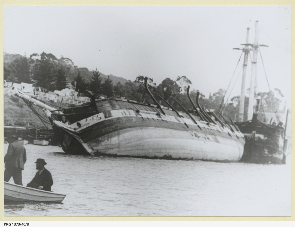 'Waterwitch' wooden barque