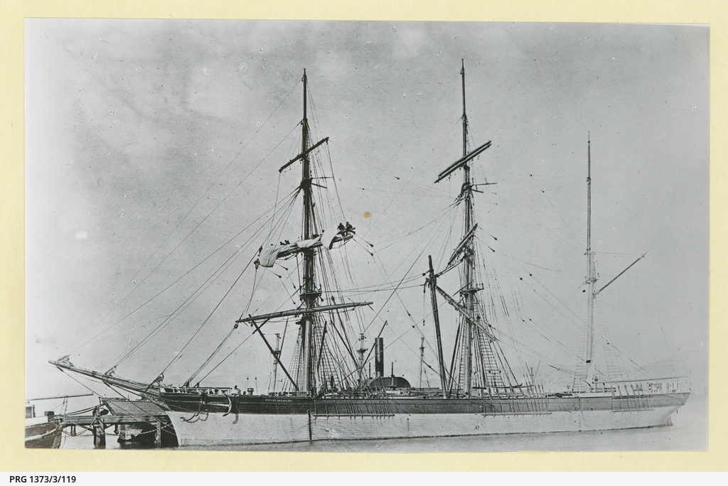 The 'George Thompson' in an unidentified port
